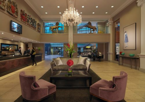 Lobby and Reception at Manchester Radisson Blu Edwardian