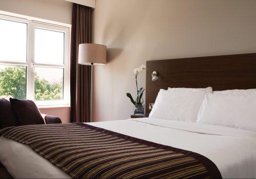 Bedroom at Jurys Inn