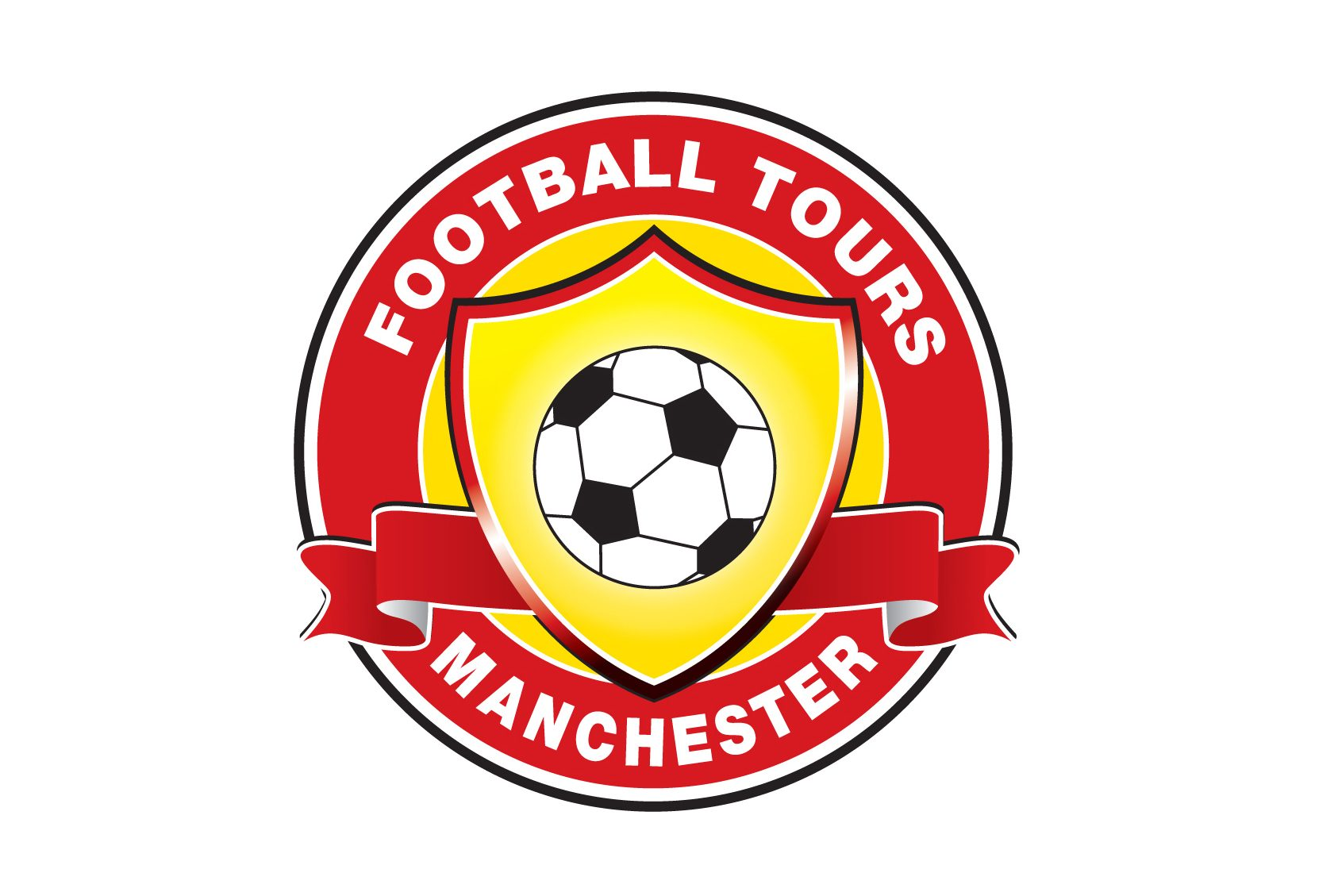 Manchester Football Logo ROUND / Manchester United